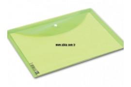 A4 Renkli Çıtçıt Dosya Yeşil
