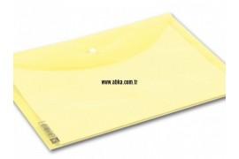 A4 Renkli Çıtçıt Dosya Sarı