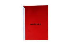 Boydan Clips Sıkıştırmalı Dosya Kırmızı