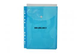 11 Delikli Körüklü Dosya Mavi